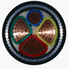 0.6/1kV Copper / Aluminum Conductor XLPE Insulation Steel Wire Armoured Power Cable